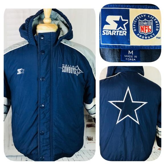 Dallas Cowboys Vtg Starter Jacket Medium. M 5b3030cb4ab633f27d24e57e b68f3791b